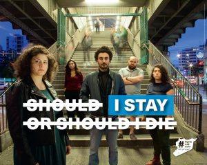 Plakat SyriaNotSafe
